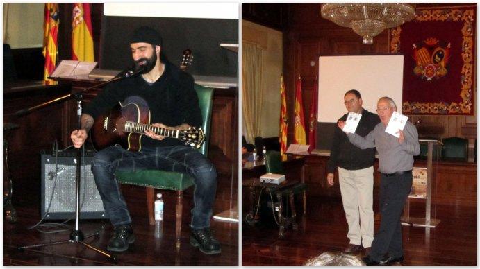 Oscar Villén Y Juan Manuel Berges entregan sus premios