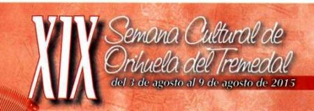 Anuncio Semana Cultural Orihuela 2015